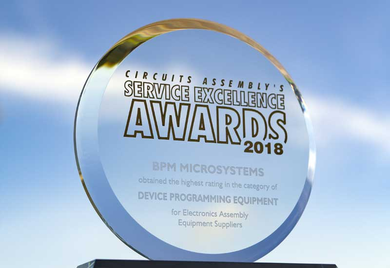 BPM Microsystems Named Best in Customer Service