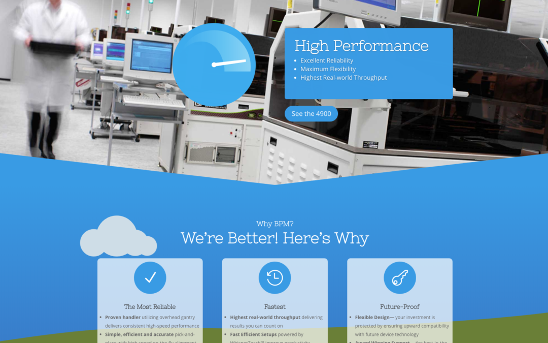 BPM Microsystems launches its new, faster, secure, responsive (and overdue) website