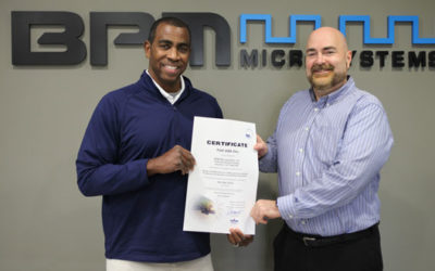 BPM Microsystems Receives ISO Certification