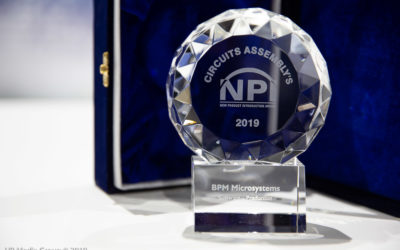 2019 New Product Introduction Award Presented at IPC APEX EXPO