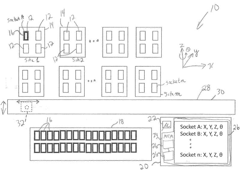 US Patent: Automated teaching of pick and place workflow locations on an automated programming system